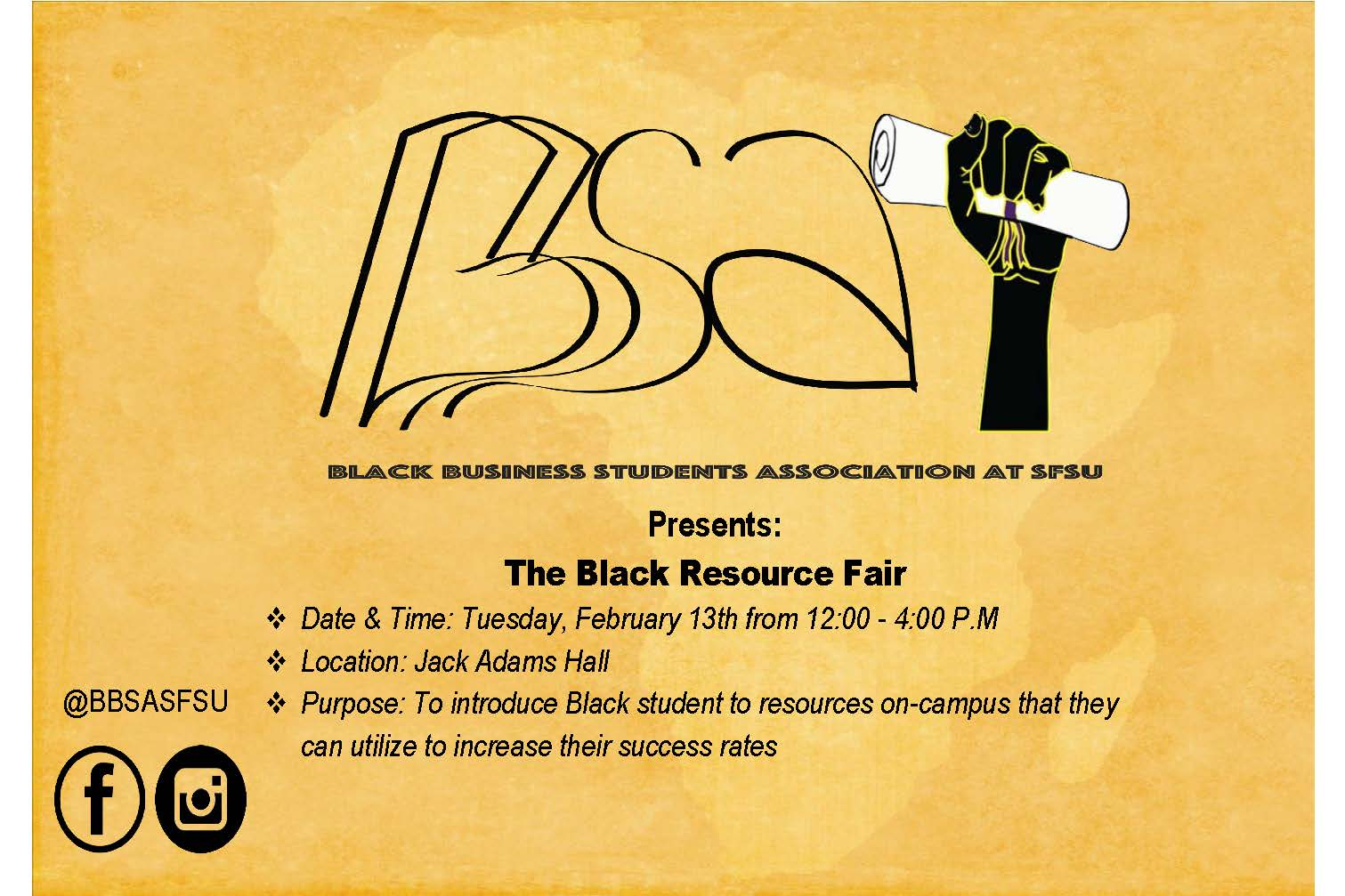 The Black Resource Fai