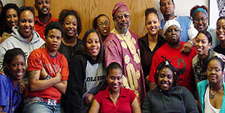 Africana Studies Students