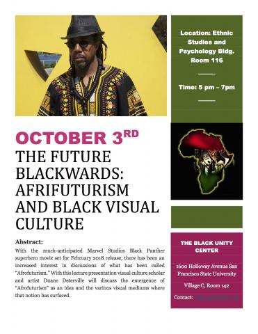 The Future Blackwards: Afrifuturism and Black Visual Culture