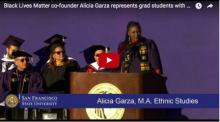 "Garza's Award Address at ATT Park ""Ode to Black Women"""